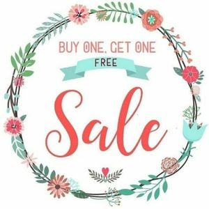 buy one get one free sale